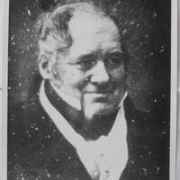 Black and white image of Lewis Weston Dillwyn