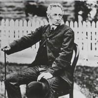 Black and white image of Lewis Llywellen Dillwyn MP